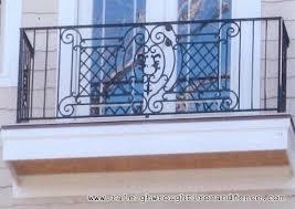 faux iron balconette raleigh wrought iron co