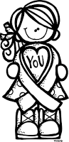 breast cancer ribbon coloring pages for kids laura williams