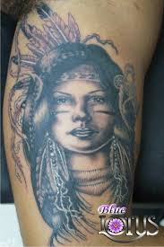apache indian warrior tattoos