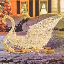 Christmas Goose Outdoor Decorations by Outdoor Christmas Sleigh Wayfair