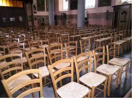 chaise d église noreuil de nouvelles chaises à l église