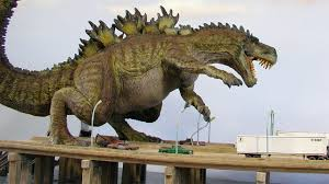 3d godzilla movie tested