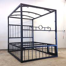 A Frame Bed Customizable Bed With Cage