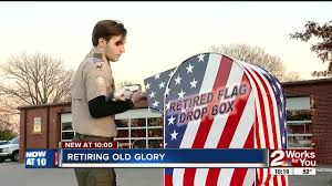 How To Dispose Of Us Flag Teen Creates Unique Way To Respectfully Dispose Of American Flags
