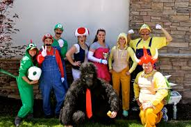 super mario brothers halloween costumes tracy mario kart