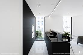 black kitchen design vertical garden in black kitchen black glass
