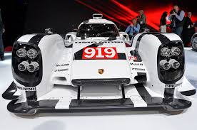 porsche 919 interior porsche 919 and 911 racecars shown at geneva automobile magazine