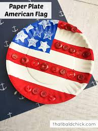 Backwards Us Flag Paper Plate American Flag That Bald