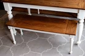 Diy Table Plans Free by Diy Solid Oak Farmhouse Bench Free U0026 Easy Plans