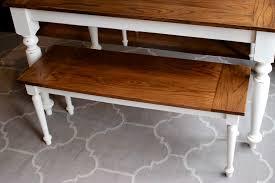Easy Wood Bench Plans by Diy Solid Oak Farmhouse Bench Free U0026 Easy Plans