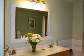 Bathroom Mirrors Chrome by Bathroom Wood Framed Lowes Bathroom Mirror In Black For Bathroom