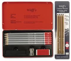wolff u0027s carbon u0026 graphite sketching pencil value pack jerry u0027s