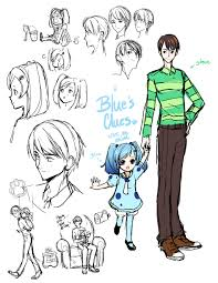 if blues clues were an anime by amaiplus on deviantart
