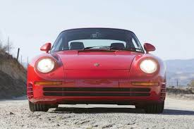 a porsche 959 in the us thank bill gates