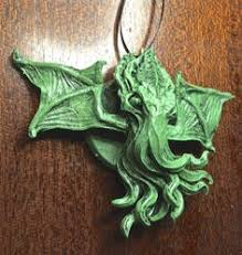 cthulhu kopf ornament dellamorteco auf etsy diy