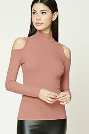 womens turtleneck top forever21