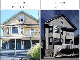 before and after home exteriors new on contemporary amazing big