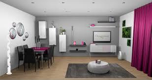 chambre fushia et blanc chambre mur gris clair deco salon mur gris et blanc touche couleur
