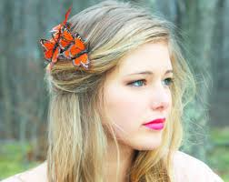 butterfly hair butterfly hair comb etsy