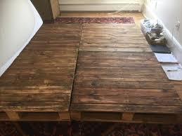 Diy Platform Bed From Pallets by Diy Pallet Platform Bed Pallet Furniture Diy