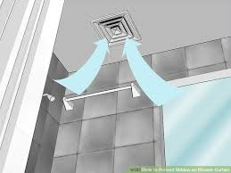 Best Shower Curtain Liner No Mildew How To Prevent Mildew On Shower Curtain 7 Steps With Pictures