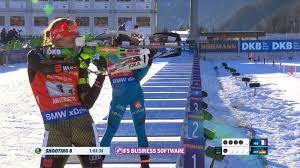 video biathlon siegesserie ausgebaut die highlights vom triumph