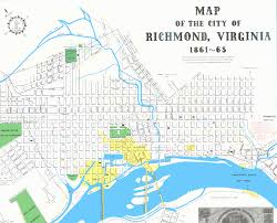 Map Of Virginia Cities Map Of Richmond My Blog