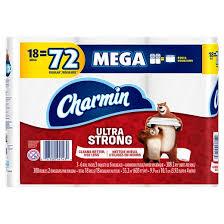 Charmin Bathroom Charmin Ultra Strong Toilet Paper 18 Mega Rolls Target