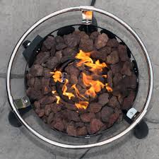 Fire Pit Rocks by Amazon Com Sportsman Series Outdoor Portable Lp Propane 55 000