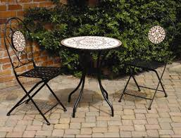 Mosaic Patio Table And Chairs by Bistro Patio Set And Design Recommendations Home Design By Fuller