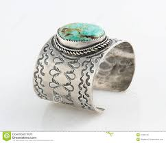 cuff bracelet with stones images Ornate sterling silver cuff bracelet with large turquoise stone jpg