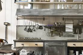 cute industrial style kitchen in home decoration for interior