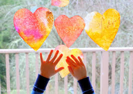 kids crafts hearts for valentine u0027s day think crafts by