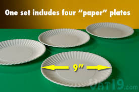 reusable paper plates environmentally friendly alternative to