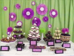 party centerpieces 37 beautiful purple party decorations
