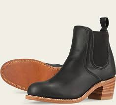 womens boots wing s 3391 harriet black leather boot wing heritage