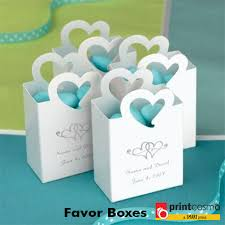 wedding party favor boxes custom made favor boxes at affordable prices printcosmo in usa