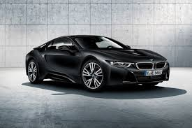 bmw black bmw i8 gets protonic frozen black and yellow special editions