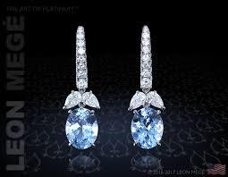 aquamarine drop earrings e7304 mege aquamarine and diamond drop earrings