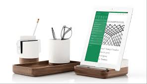 beautiful desk evernote adds desk tidies and tablet stands to market