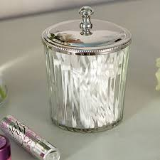 Glass Bathroom Storage Jars Clear Glass Storage Jar Tins Jars Bottles Bathroom