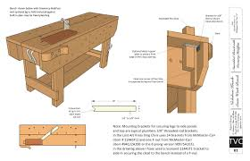 Free Simple Wood Workbench Plans by Download Free Plans For The Knockdown Nicholson Workbench Lost