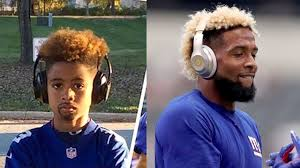 football player halloween costume for kids kids hilariously dress as odell beckham jr for halloween youtube