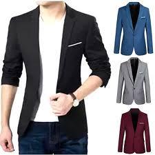 casual blazer mens casual blazer ebay