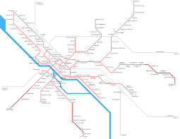 Metro Maps by Bremen Metro Map U2022 Mapsof Net