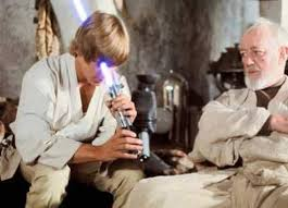 Obi Wan Kenobi Meme - this is the weapon of a jedi knight not as clumsy or random as a