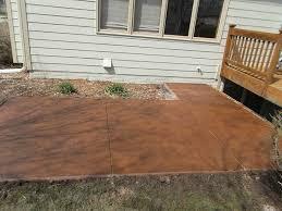 Color Concrete Patio by Portfolio Of Twin Falls Concrete Services
