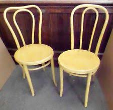 Bentwood Bistro Chair Bentwood Cafe Chairs Vintage Early 1900s Bentwood Candycane Style