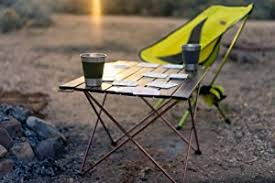 Camping Picnic Table Amazon Com Trekology Portable Camping Tables With Aluminum Table