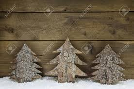 wooden handmade trees greeting card stock